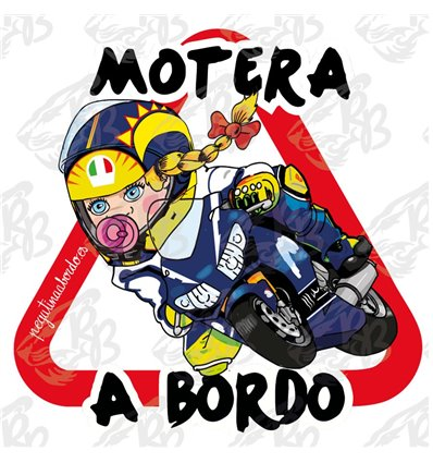 MOTERA RACING ROSSI A BORDO