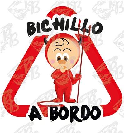 BICHILLOS DIABLILLO DE PIE A BORDO