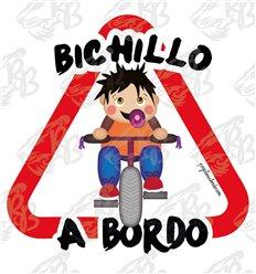 BICHILLO EN BICI A BORDO