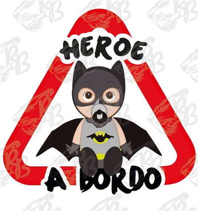 HEROE A BORDO-BATMAN SENTADO