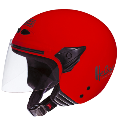 Cascos NZI Modelo HELIX II JUNIOR RED