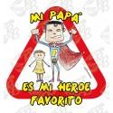 DIA DEL PADRE-MI PAPA ES MI HEROE FAVORITO CON NIÑO