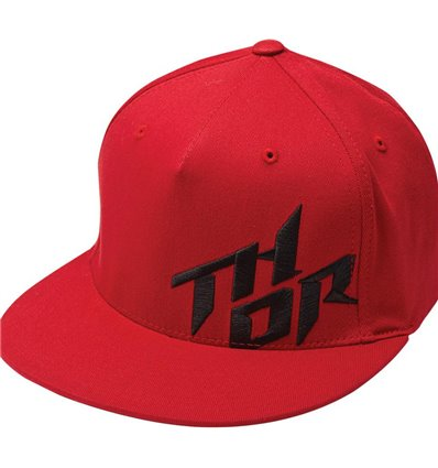 GORRA S5 STACKED RED