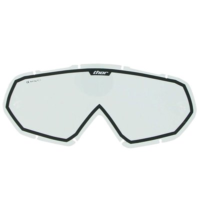 LENTES THOR YOUTH CLEAR BLACK