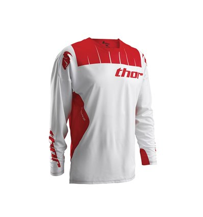 CAMISETA S6 COR CONT WH/RD