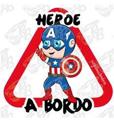 HEROE CAPITAN AMERICA A BORDO