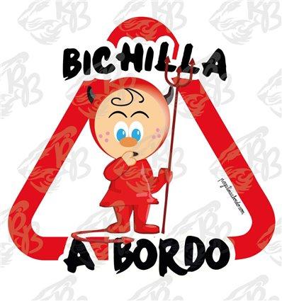 BICHILLA DIABLESA A BORDO