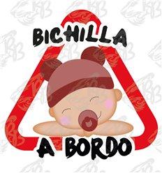 BICHILLA A BORDO CON SOMBRERO ROJO