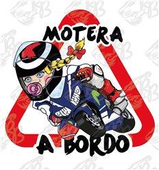 MOTERA RACING LORENZITA Y SU TRENZITA A BORDO