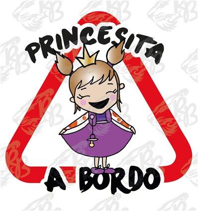 PRINCESITA A BORDO, PELO CASTAÑO