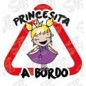 PRINCESITA A BORDO, PELO RUBIO