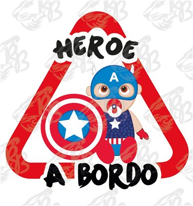 HEROE A BORDO-CAPITAN AMERICA SENTADO