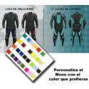 Mono Cuero y Cordura MixRB