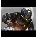 Guantes Racing Hombre Seventy SD-R2 Verano Negro/Rojo