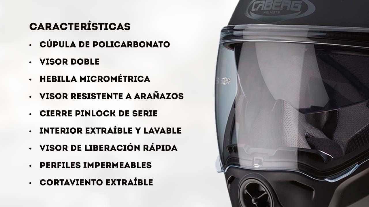 caracteristicas del Casco Caberg Droid