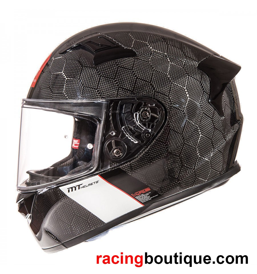 Cascos de fibra de carbono de MT Helmets KRW Snake carbon