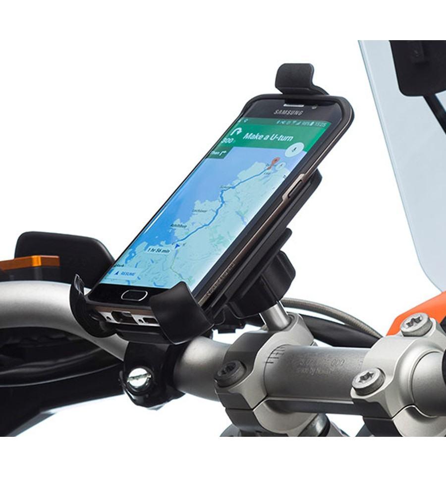 soporte universal de movil para la moto