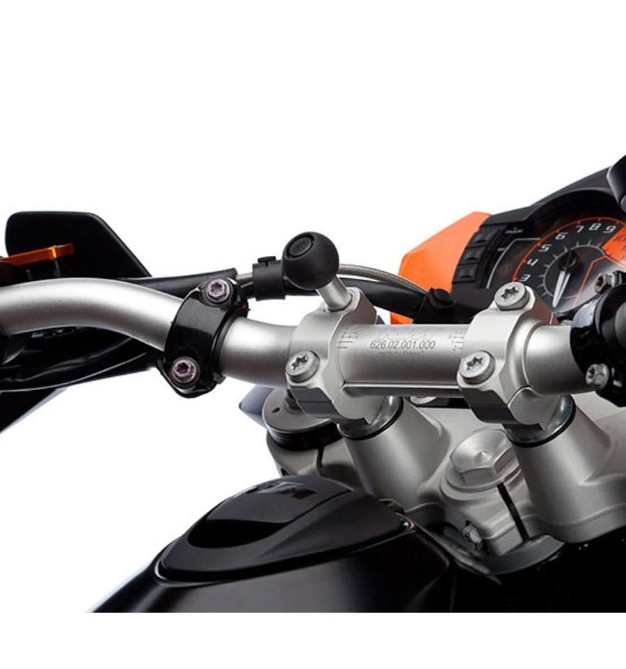 tornillo de fijación a la moto de un movil