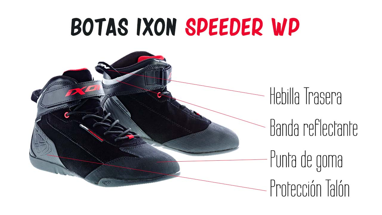 botín IXON Speeder WP impermeable